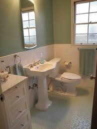 1940 3 bath room up date with glass floor and white