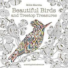 Click To Preorder Millie Marotta Beautiful Birds And Treetop Treasures Buy Adult Coloring Books