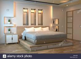 moderne zen ruhige schlafzimmer japan style schlafzimmer
