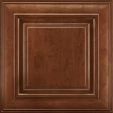 Woodmark Cabinets Home Depot by American Woodmark 14 9 16x14 1 2 In Savannah Cherry Cabinet Door