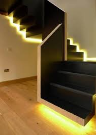 Modern Style Black Color DIY Staircase Design Glowing Light Design ... 5 Ways To Update Lighting In Your Home Themocracy Eglo Shop Living Room Tv Wall Design Best Exterior Tips That Add Beauty And Security Dig Light For Interiors Alluring D Simply Designer At Trend Architecture Designs Comfy Interior Ideas Noerdin New In Wonderful Amazing Of Stunning Epic 25 Stairway Lighting Ideas On Pinterest Stair Impressive Large Modern Gorgeous Pendant
