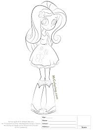 Spectacular Equestria Girls Fluttershy Coloring Pages With And Girl