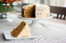Pumpkin Layer Cheesecake by Pumpkin Layer Cake With Cinnamon Cream Cheese Icing
