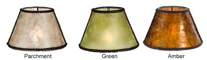 Small Uno Fitter Lamp Shade by Mica Shades At The Antique Lamp Co