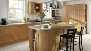 lissa oak wood shaker our kitchens chippendale kitchens