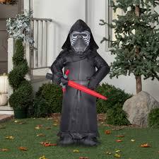 Walmart Halloween Blow Up Decorations by Gemmy Airblown Inflatable 5 U0027 X 3 U0027 Star Wars Kylo Ren Halloween