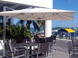 Large Fim Cantilever Patio Umbrella by 12 Umbrella Baker 12 Ft Round Bamboo Umbrella Fim Flexy Aluminum