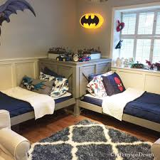 Superhero Bedding Twin how to transform a bunk bed into twin beds elpetersondesign diy