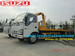 Angola ISUZU Road Wrecker Tow Recovery Truck Http://www ...
