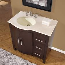 Bathroom Vanity With Drawers On Left Side by Amazon Com Silkroad Exclusive Hyp 0912 Cm Uwc 36 L Single Left
