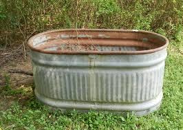 old galvanized bathtub tubethevote