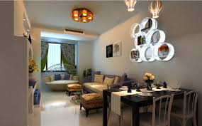 interior dining room and living room ceiling ls with gold