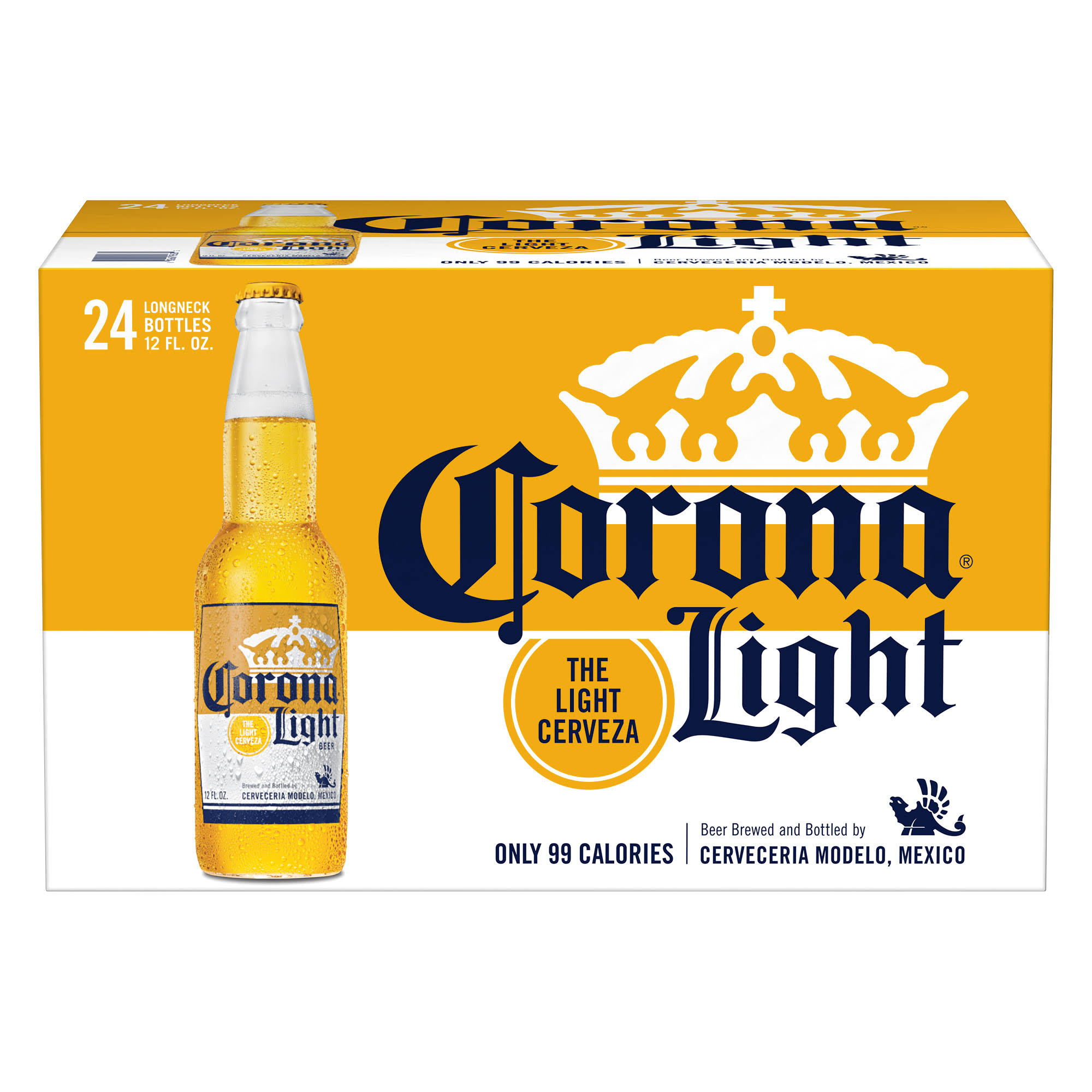 Corona Light Beer - 24 pack, 12 fl oz bottles