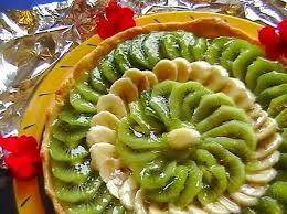 dessert aux kiwis facile tarte kiwis bananes recette kiwi banane kiwi et bananes