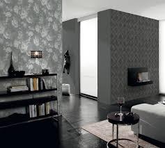 graue tapeten im wohnzimmer ideen für eine komfortable