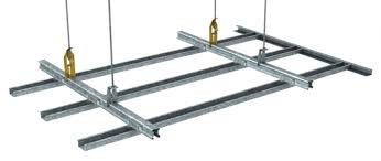 Resilient Channel Ceiling Weight by Key Lock Concealed Ceiling System For Direct Fix Or Suspended Ceilings