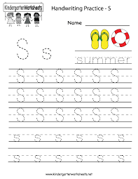 Letter S Worksheets Free Worksheets Library