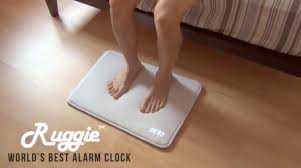 Ruggie An Alarm Clock Floor Mat That Forces Users to Get Out of