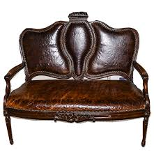 Vintage Queen Anne Style Mahogany Leather Settee : EBTH Retro Brown Leather Armchair Near Blue Stock Photo 546590977 Vintage Armchairs Indigo Fniture Chesterfield Tufted Scdinavian Tub Chair Antique Desk Style Read On 27 Wide Club Arm Chair Vintage Brown Cigar Italian Leather Danish And Ottoman At 1stdibs Pair Of Art Deco Buffalo Club Chairs Soho Home Wingback Wingback Chairs Louis Xvstyle For Sale For Sale Pamono Black French Faux Set 2