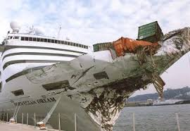 Cruise Ship Sinking Santorini by Cruise Ship Calamities