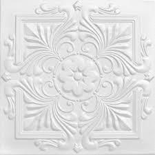 Foam Glue Up Ceiling Tiles by A La Maison Ceilings Victorian 1 6 Ft X 1 6 Ft Foam Glue Up