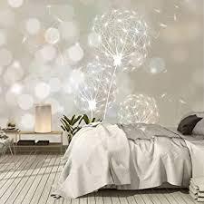 murimage fototapete blumen pusteblume 366 x 254 cm inklusive kleister pflanze wand dekoration schlafzimmer tapete