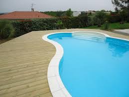 margelle piscine en bois pose margelle bois piscine evtod