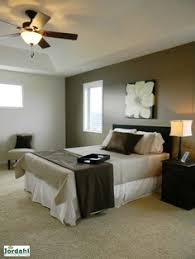 One Dark Neutral Wall Then Light Colors On Other Walls Master Bedroom Earth Tone BedroomNature BedroomBedroom Decorating