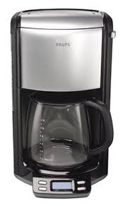 KRUPS FME414 Programmable Coffee Maker With Glass Carafe