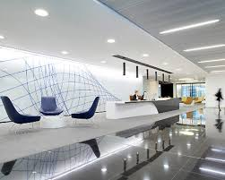Modern fice Lobby Interior Design fice Reception Interior