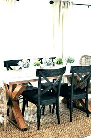 Farmhouse Style Dining Table And Chairs Room Rustic Farm Set