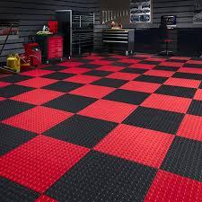 techfloor tile with raised squares garage floor tile modular tile
