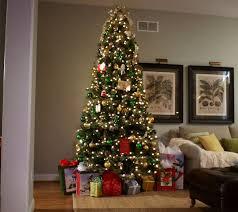 Qvc Christmas Tree Storage Bag by Hallmark 9 U0027 Fallen Snow Christmas Tree With Quick Set Technology