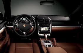 2010 Porsche Cayenne S Brown Leather Interior