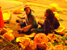 Ohio State Pumpkin Designs by The Chagrin Falls Pumpkin Roll Aims For The Silver Screen