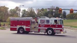 100 Code 3 Fire Trucks Responding To Emergencies Running Red Lights And Sirens