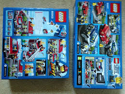 Brave New Lego World: Day XXII: 60007 High Speed Chase + 60003 Fire ...