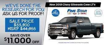 Five Star Chevrolet Buick GMC In Warner Robins | Perry & Macon, GA ... Lifted Trucks Specifications And Information Dave Arbogast Chevy For Sale In Ga Complete 2017 Chevrolet Silverado 1500 Used Lt 4x4 Truck For Statesboro New 2018 Custom Near Inventory Inrstate Auto Sales Cars Byron Ga 1gchk23274f260761 2004 Gold Chevrolet Silverado On In Near You Phoenix Az 2006 2500hd Hinesville Jim Ellis Atlanta Car Dealer These Are The Most Popular Cars Trucks Every State