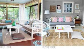 a patio coffee table hack and our new sofa young house love