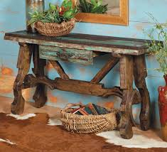 Western Rustic Tables