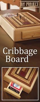 This DIY Cribbage Board Will Become A Sentimental Addition To Your Family Game Nights