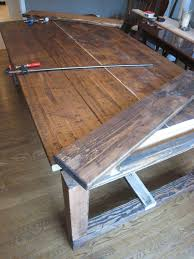 Wood Kitchen Table Plans Free by 45 Best Farm Tables Images On Pinterest Farm Tables Kitchen