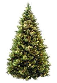 75 Pre Lit Carolina Pine Hinged Christmas Tree At Menards 29999