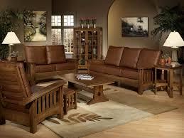 Elegant Rustic Leather Living Room Furniture Ambelish 2 On Sofas Design