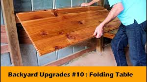 Simple Fold Down Table Bar DIY ~ Backyard Upgrades #10 - YouTube Better Sit Down For This One An Exciting Book About The History Of Table Fniture Wikipedia List Of Types Gateleg Table 50 Amazing Convertible Coffee To Ding Up 70 Off Modern Wallmounted Desk Designs With Flair And Personality Drop Down Murphy Bar Diy Projects Bloggers Follow In 2019 Flash Fniture 30inch X 96inch Plastic Bifold Home Twenty Ding Tables That Work Great Small Spaces Living A Dropleaf Tables For Small Spaces Overstockcom Amazoncom Linon Space Saver Set Kitchen Cube 5 1 Ottoman Seat Expand Folding
