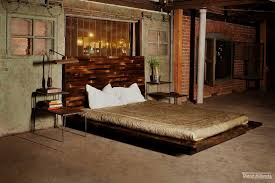 Urban Rustic Beds Industrial Bedroom Design