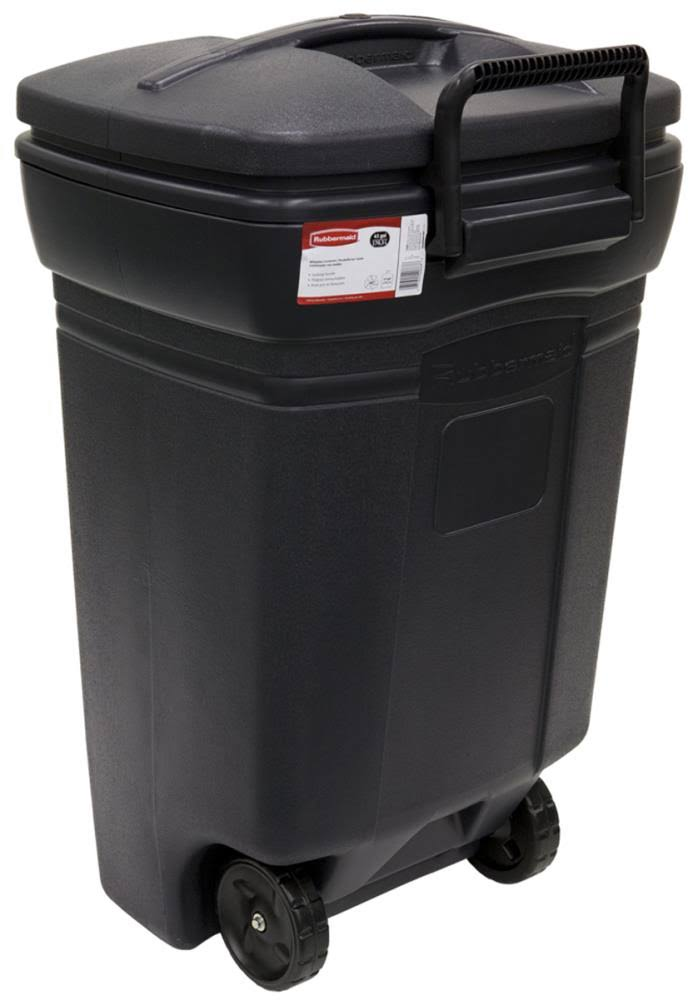Rubbermaid Roughneck Wheeled Trash Can - 45 Gallon