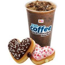 Dunkin Donuts Iced Coffee Dark Chocolate Mocha