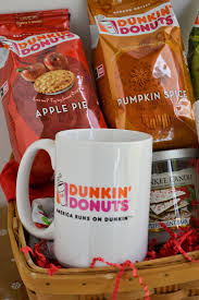 Dunkin Pumpkin Spice by Dunkin Donuts Seasonal Flavors Holiday Gift Baskets Flour On My Face