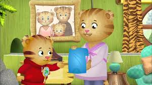 Caillou In The Bathtub Ytp by Daniel Tiger U0027s Neighborhood Meet The New Baby Youtube